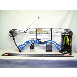 "BowTech Diamond by Bowtech - Prism Blue Package- Right Hand 5-55# 18-30"" Draw"
