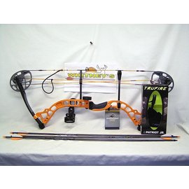 """BowTech Diamond by Bowtech - Prism Orange Package- Right Hand 5-55# 18-30"""" Draw"""
