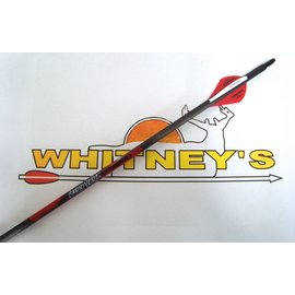 "Black Eagle Black Eagle Carnivore Carbon Arrows 400/.001""  6 Pack"