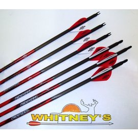 Black Eagle Black Eagle Carnivore Carbon Arrows 30-50/.003 6 Pack Ultra Light