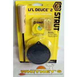 Hunter Specialties (HS) HS Strut Lil Deuce Slate W/ Diaphragm Call-07099