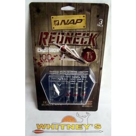 "New Archery Products (NAP) NAP Redneck 100 Gr. X-Bow - 1 1/8"" Cut-#60-147"