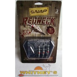 "New Archery Products (NAP) NAP Redneck 100 Gr. - 1 1/8"" Cut-#60-141"