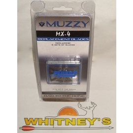 Muzzy Products Muzzy -100 Grain 4 Blade MX-4 Replacement Blades-309-MX4