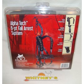 Lone Wolf Tree Stands Lone Wolf Alpha Tech 6-pt Fall Arrest System Blk -ATH