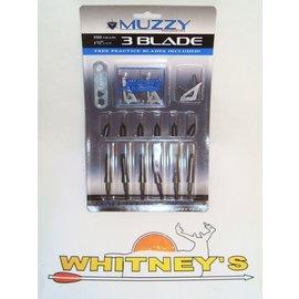 Muzzy Products Muzzy 3 Blade 100 GR Model 225 Broadheads / Broadhead