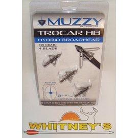 "Muzzy Products Muzzy Trocar Hybrid 100 Gr., 4 Blade, 2 ⅝"" Cutting Surface-297"