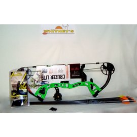 """Escalade NEW!!  Fred Bear 2016 Cruzer LITE GREEN Bow Right Hand Package  5-45#  12-27"""""""