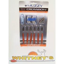 Muzzy Products Muzzy 125 Gr. 3 Blade Crossbow Broadhead-235-X