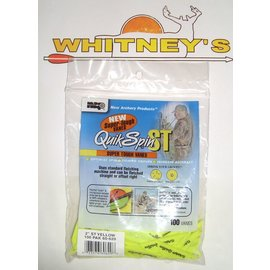 """New Archery Products (NAP) NAP 2"""" QuikSpin ST -100 Pack- Yellow-60-620"""