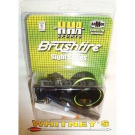 HHA Sports HHA Brushfire- Black- 1 Pin Left Hand-BF-5519LH
