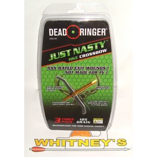 Dead Ringer LLC Dead Ringer Just Nasty HKE- CROSSBOW 125 Gr. -DR5187