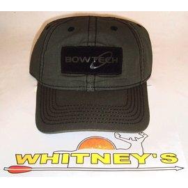 BowTech Bowtech Baseball Cap-Adjustable Velcro Fit-Green w/Black-FERN-BT15A-H171