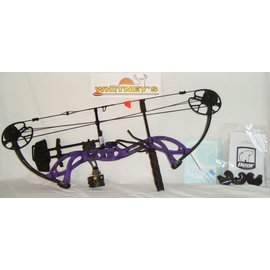 """Escalade Fred Bear 2017 Cruzer G2 Spark Bow Purple Right Hand Package 5-70# 12-30"""""""