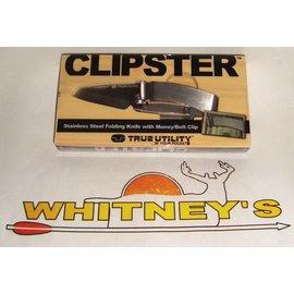 Nebo NEBO True Utility CLIPSTER Folding Knife w/Money Clip-TU579