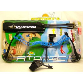 """BowTech 2016 Diamond by Bowtech -Atomic - Electric Blue- Right Hand 6-29# 12-24"""" Draw"""