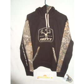 Hoyt Hoyt 16CTH Outfitter Hoody - Black/Camo-Size X-Large-1505383