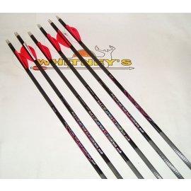 Eastman Outdoors Carbon Express Predator Hot Pursuit 2040 Arrows 6 Pack-50897