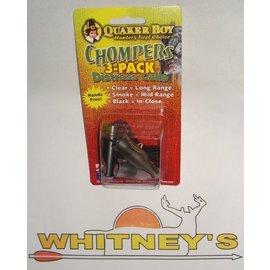 Quaker Boy Quaker Boy- Chompers 3 Pack-62629