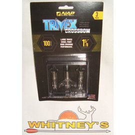 New Archery Products (NAP) New Archery Products (NAP) Trivex Crossbow Shockwave 100 Grain - 3 Pack-60-875