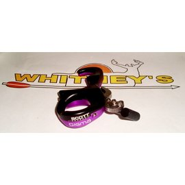 Scott Archery Manufacturing Scott SIGMA Release - 3 Finger - Purple/Black-8007-PR-3