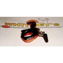 Scott Archery Manufacturing Scott Sigma Release - 3 Finger - Orange/Black-8007-OG-3
