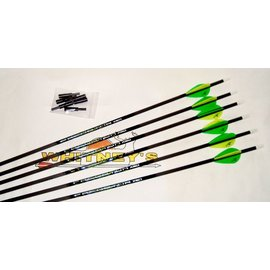 Eastman Outdoors Carbon Express Predator XSD 400 Arrows 6 Pack-50886