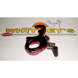 Scott Archery Manufacturing Scott Sigma Release - 3 Finger - Pink/Black-8007-PK-3