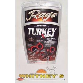"""Rage Slip Cam Rage Turkey X-Treme-100 Gr.-2.3"""" Meat Hook 2 Pack-R43000"""