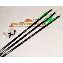"""TenPoint TenPoint 22/64-20"""" Pro Elite Carbon Arrows 3-PK W/Lighted Omni-Nock-HEA-638.3"""