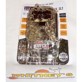 Covert Scouting Cameras, Inc. Covert Scouting Camera Code Black 12.1- AT&T - 2017 Model - Mossy Oak-5311