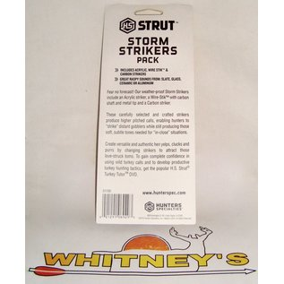 Hunter Specialties (HS) HS Strut Peg Pack Storm Strikers-D1700