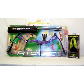 "BowTech Diamond by Bowtech -Atomic - Purple - Right Hand 6-29# 12-24"" Draw"