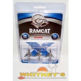 Fulton Precision Archery LLC. Ram Cat 100 Gr. Crossbow Broadhead-RAM100CB
