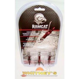 Fulton Precision Archery LLC. Ram Cat Savage Mechanical 100 Gr. 3 Pack-R1008