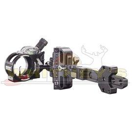 "C.B.E. CBE Tek-Hybrid Adjustable Hunting Sight - 1 Pin - .019"" - Green - RIGHT HAND"