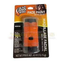 Dead Down Wind, LLC Dead Down Wind - Black Face Paint - Maquillage Facial - 1256BC