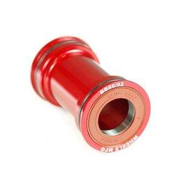 Wheels Manufacturing Wheels Manufacturing, Pressfit 86/92, Press-fit, BB Shell: 86/92mm, Dia.: 41mm, Axle: 24/22mm, ABEC 3, Black, BB86/92-SRAM7