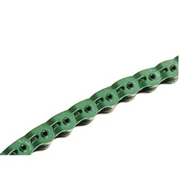 Gusset Gusset, Slink, 1sp chain, 102 half-links, 1/8'', Green
