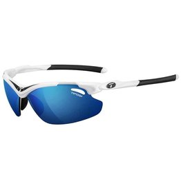 Tifosi Tifosi, Tyrant 2.0, Sunglasses, Frame: White/Black, Lenses: Clarion Blue, AC Red, Clear