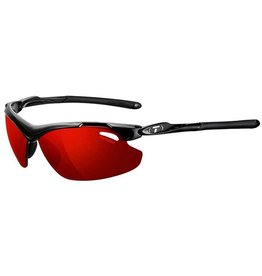 Tifosi Tifosi, Tyrant 2.0, Sunglasses, Frame: Gloss Black, Lenses: Clarion Red, AC Red, Clear
