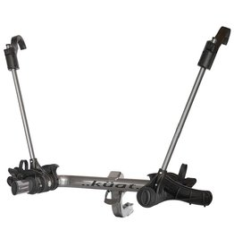 KUAT Kuat, Transfer, Hitch Mounted bike rack, 2 bikes, Universal Hitch Mount, Gun Metal Grey