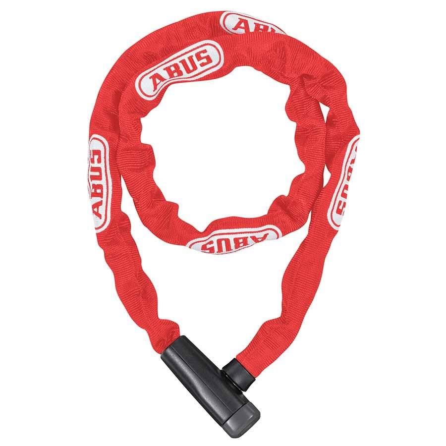 ABUS Abus, Steel--Chain 5805K Chain with key lck, 5mm x 110cm (5mm x 3.6'), Black