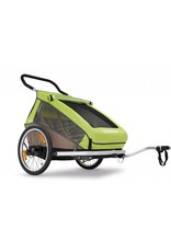 Croozer Kid For 2 Trailer/Jogger/Stroll Green