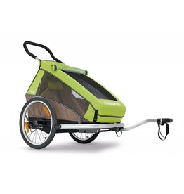Croozer Croozer Kids For 1 Trailer/Jogger/Stroll Green