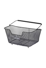 Basil, Base, Rear basket, M, Black
