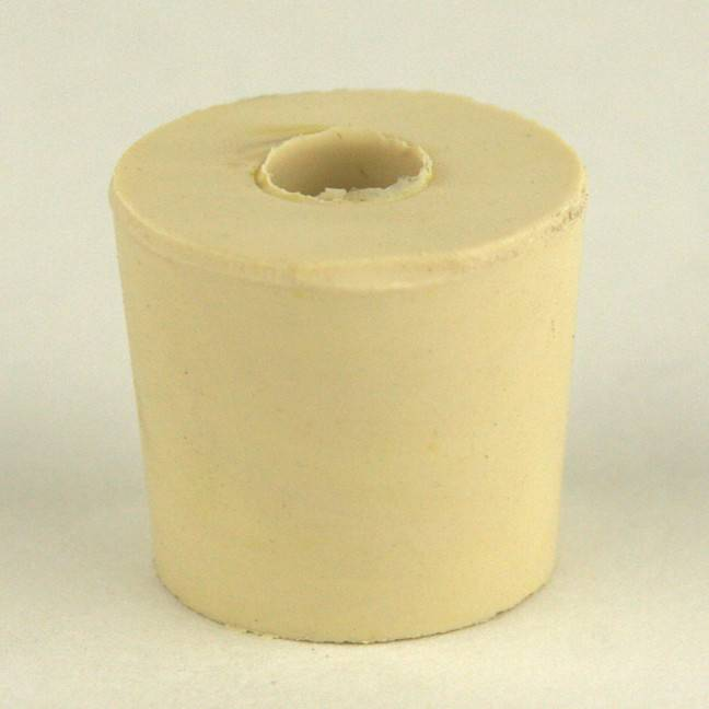 Drilled Rubber Stopper #5
