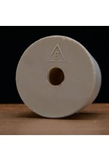 Drilled Rubber Stopper #8