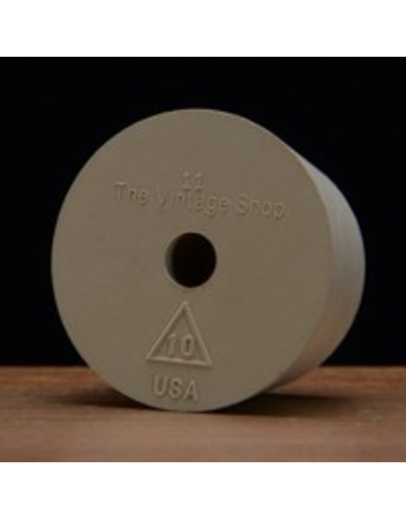 Drilled Rubber Stopper #10