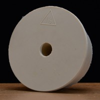 Drilled Rubber Stopper #11 1/2